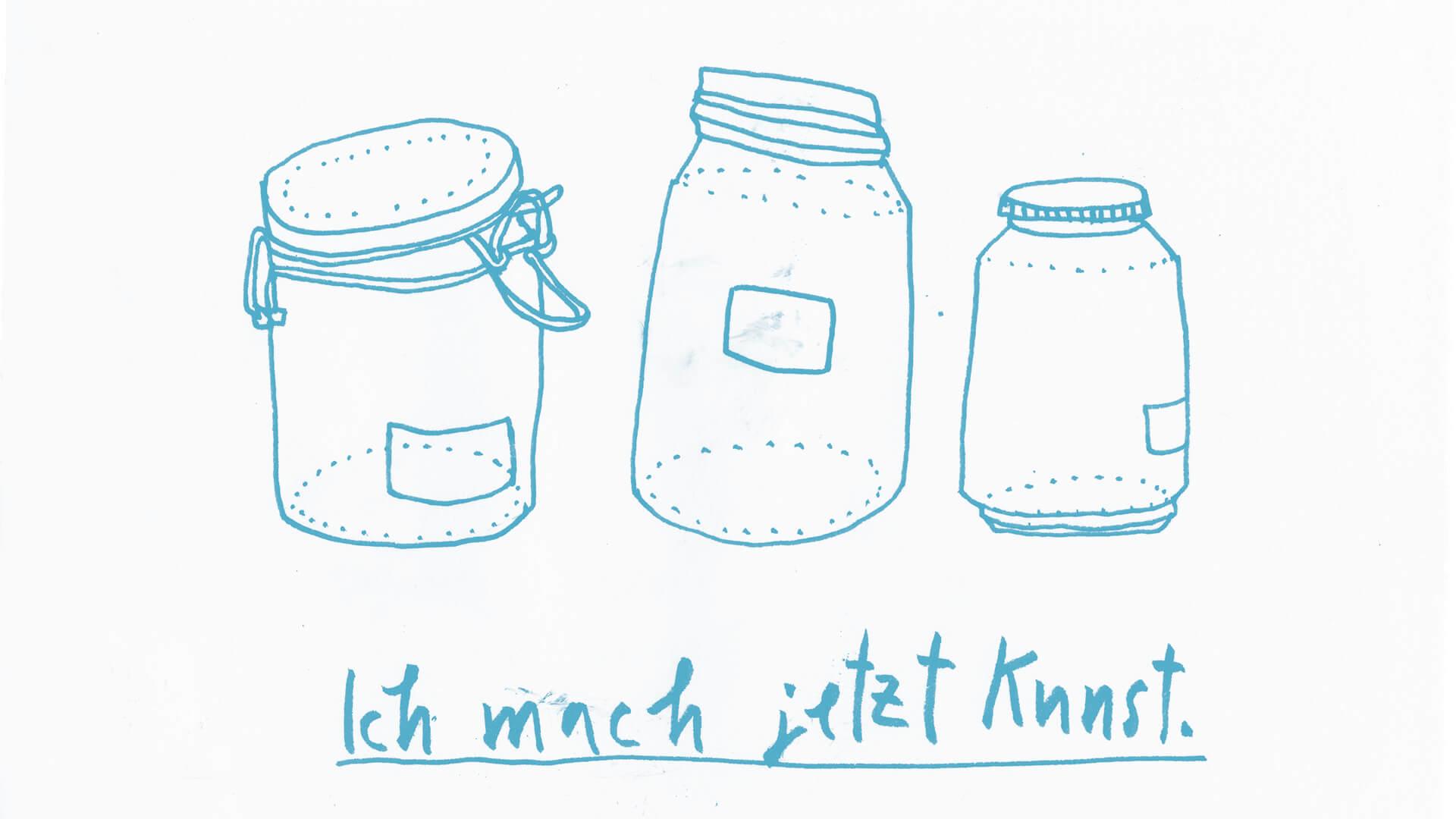Matrosenhunde, Wochenkalender, Illustration, Berlin, Weckgläser, Einmachgläser, Müllvermeidung, wastefree, jars, unverpackt, safetheplanet, artoflife