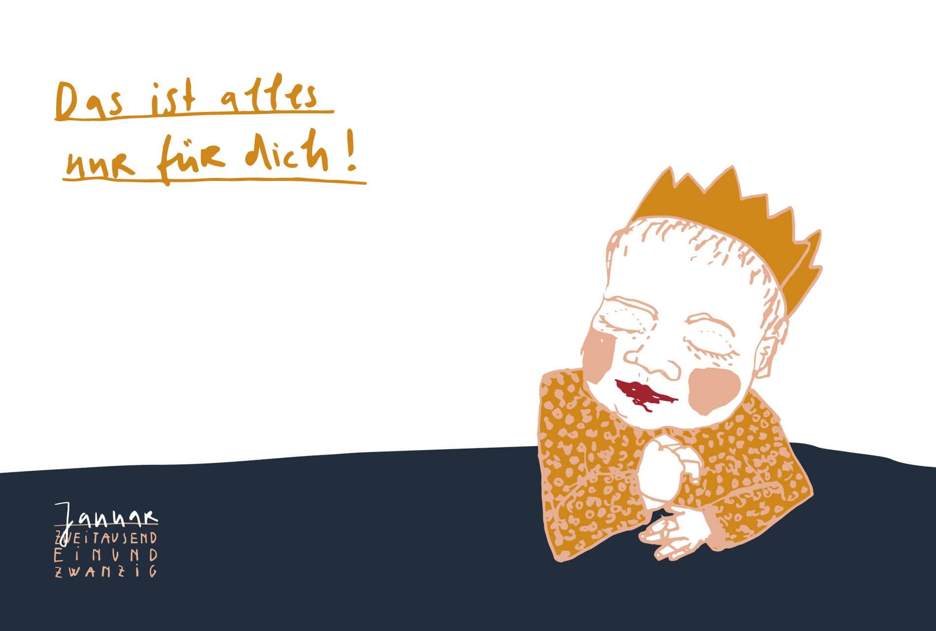 Matrosenhunde Illustration zeichnung Kalender 2021 Matrosenhunde Illustration Zeichnung Illustratorin Text Prosa Monatskalender Januar Kunstkalender Illustrationskalender Das ist alles nur für dich