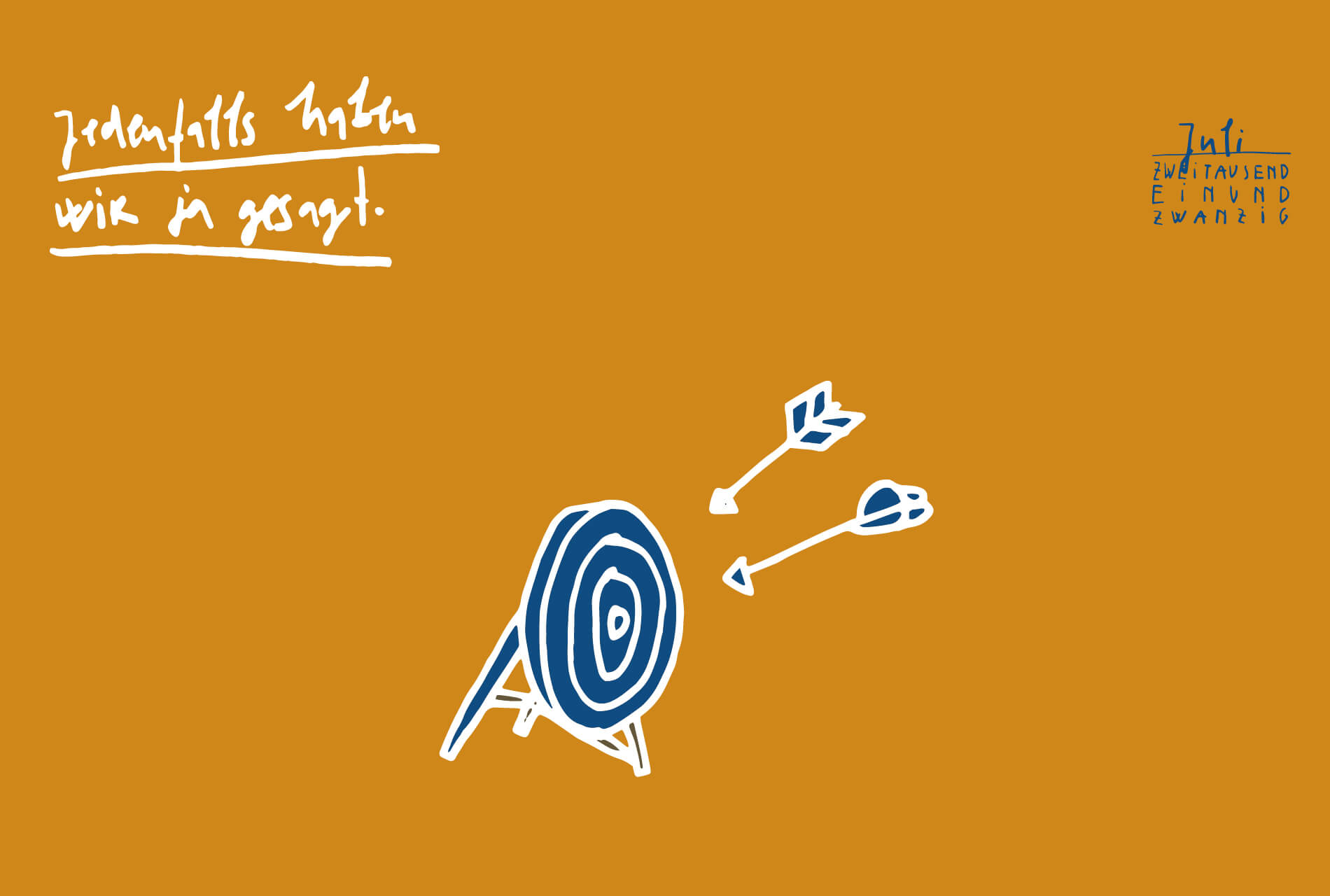 Matrosenhunde, Illustration, Kalender, 2021 Matrosenhunde, Illustration, Zeichnung, Illustratorin, Text, Prosa, Monatskalender, Juli, Kunstkalender, Illustrationskalender,Jedenfalls haben wir ja gesagt